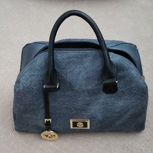 Christian LaCroix Denim colored purse